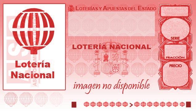 Décimo de Lotería con el número 00005
